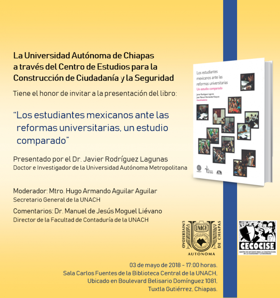 Presentacion de Libro del Autor: Dr. Javier Rodríguez Lagunas